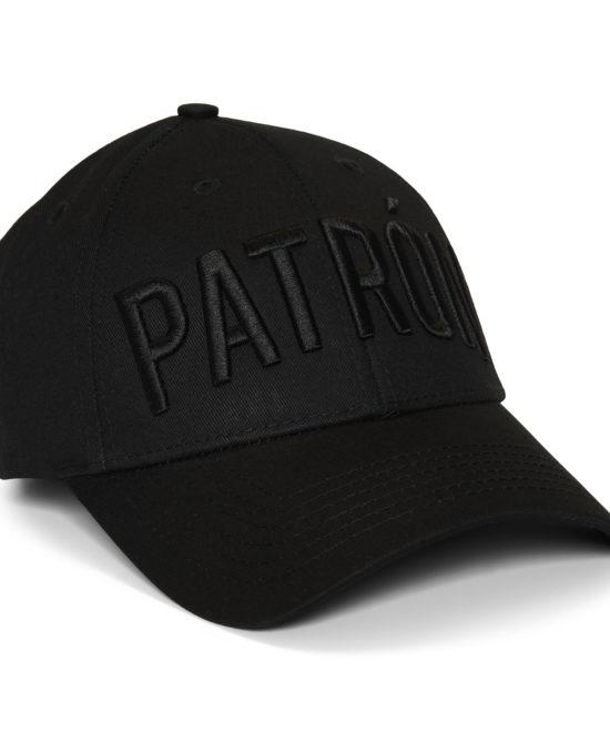 Patrón Black Black Cap