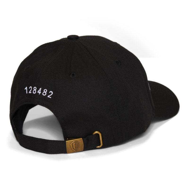 Patrón Black Cap