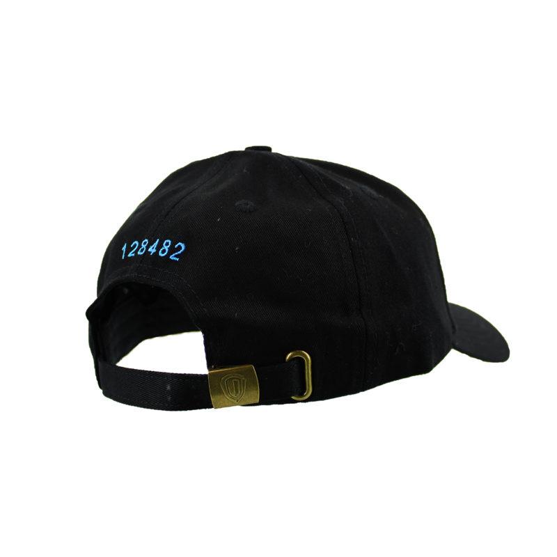 Patrón Cap Black/Blue